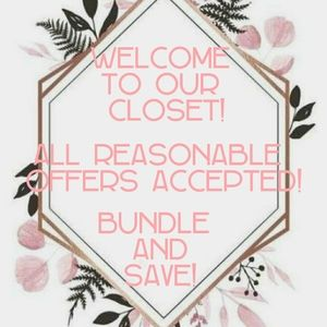 🦄Welcome to our closet 🦄